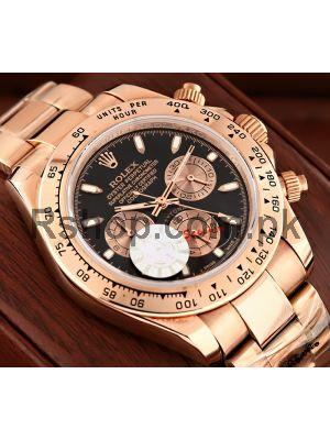 Rolex Cosmograph Daytona Everose Gold Watch Price in Pakistan