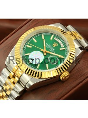 Rolex Day-Date Green Dial Watch Price in Pakistan
